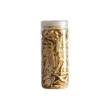 Eurosand Effect Wood Flakes 500 Ml Geel Hout