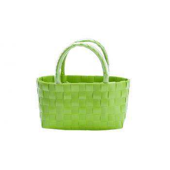 Cosy & Trendy Tasje Trendy Lime 17x8xh10cm
