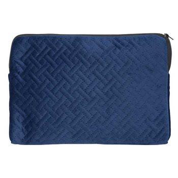 Cosy @ Home Toiletzak Velvet Cross Nachtblauw 26,5x