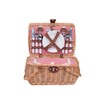 Cosy & Trendy Picknickmand 4p-koelzak-bestek-borden-