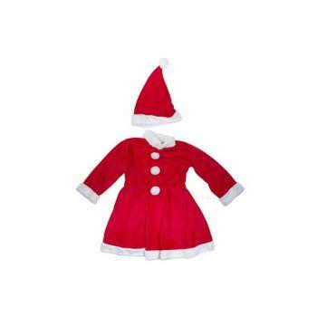 Cosy @ Home Kerstmanpak Girls 2pcs 6-8y Rood Textiel