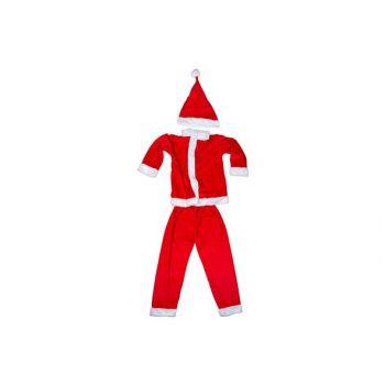 Cosy @ Home Kerstmanpak Boys 3pcs 6-8y Rood Textiel