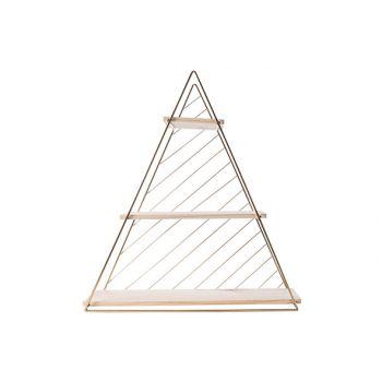 Cosy @ Home Decorek Triangle Goud D60 47x13,5xh50cm
