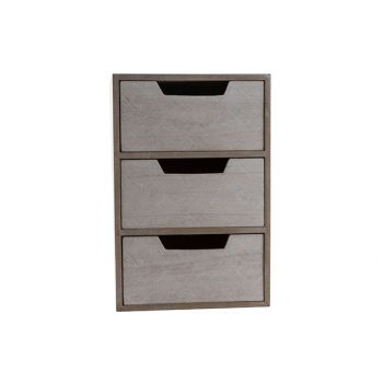 Cosy @ Home Ladenkast Beige 20x14xh30cm Hout