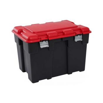 Keter Explorer Box 185l Zwart-rood 84.2x60.2x