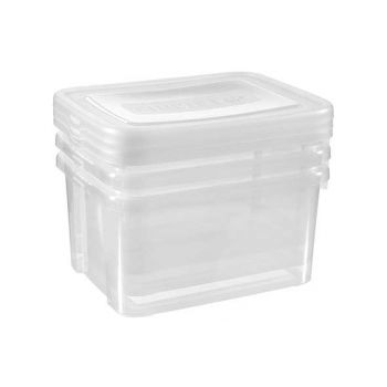 Curver Handy Box Set3x25l 44.x34.5x35cm Transp