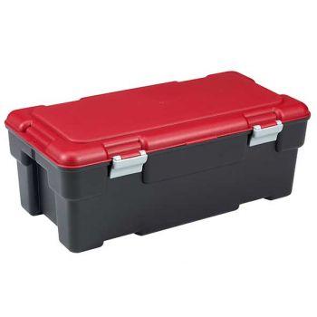 Keter Voyager Box 65l Zwart-rood 80.5x43x30.5c