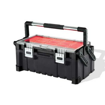 Keter Cantilever Toolbox Combo Zwart-rood