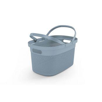 Kis Filo Shopping Basket Misty Blue45,5x30x