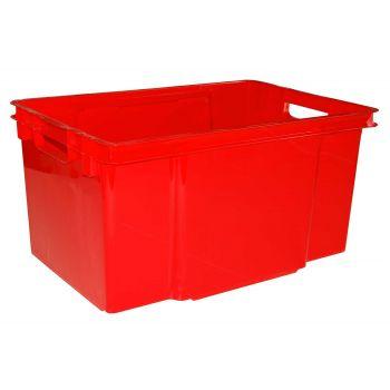 Keter Crownest Box 50l True Red 58.7x39x30cm