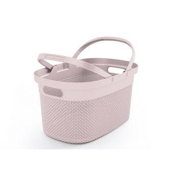 Kis Filo Shopping Basket Rose 21l 45,5x30xh2