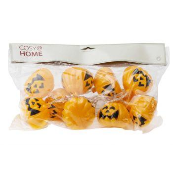 Cosy @ Home Halloweenverlichting Pompoen 10led Ww