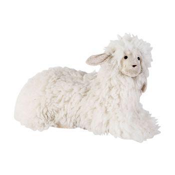 Cosy @ Home Schaap Wool Wit 37x19xh20cm Foam