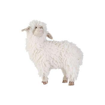 Cosy @ Home Schaap Wool Wit 34x17xh35cm Foam