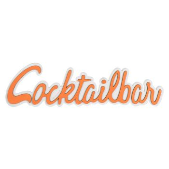 Cosy @ Home Coctailparty Oranje 48x2xh13cm Hout