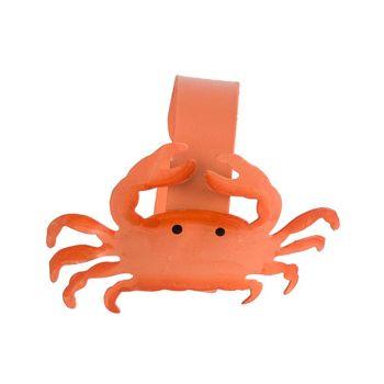 Cosy @ Home Servetring Crab Oranje D4cm Metaal