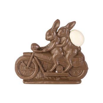 Cosy @ Home Paashaas On Bike Chocolat 21,5x4,5xh18,7
