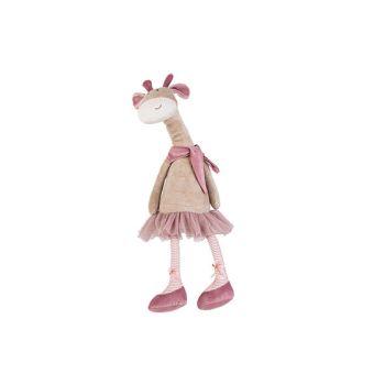 Cosy @ Home Giraf Long Legs Beige Roze 16x13xh55cm