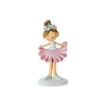 Cosy @ Home Kind Violette Ballet Roze 6x6,5xh12cm Po