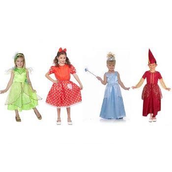 Goodmark Carnaval Kostuum Meisje 4 Types Mt110-146