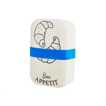 Cosy & Trendy Lunchbox Bon Appetit Creme 18x12,2xh6cm