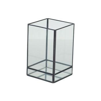 Cosy @ Home Lantaarn Mirror Grijs 10x10xh16cm Metaal