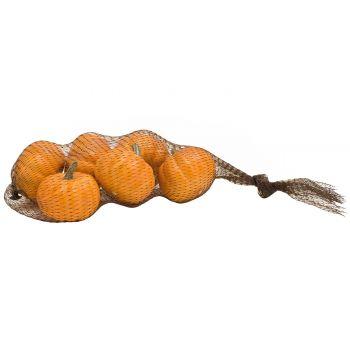 Cosy @ Home Pompoen Set6 Oranje D6cm Plastiek