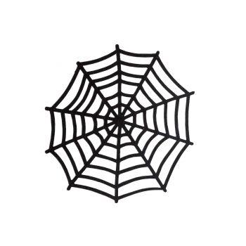 Cosy @ Home Spinnenweb Zwart 30x,5xh30cm Foam