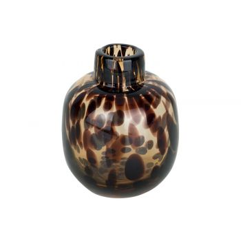 Cosy @ Home Flesvaas Panther Bruin 10x10xh11cm Rond
