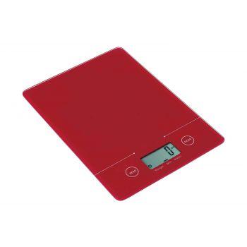 Cosy & Trendy Keukenweegschaal Electr. Rood 5kg-1g