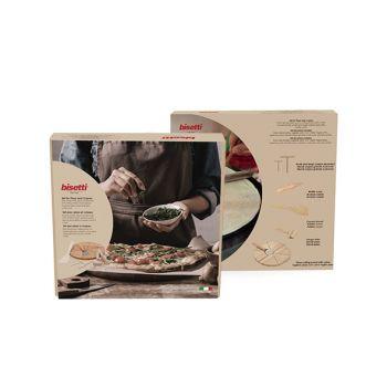 Bisetti Pizza-pannenkoekenset 7-dlg Hout