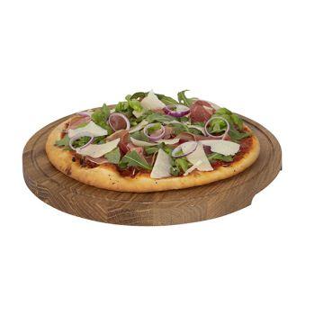 Boska Pizza Serveerplank L Eik Rond D34xh2cm