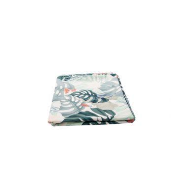 Cosy @ Home Tafelloper Leaves Groen 40x140cm Polyest
