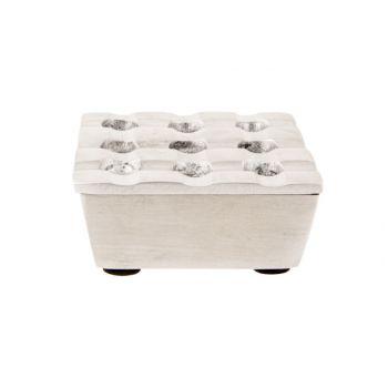 Cosy & Trendy Square  Asbak Mat 7,5x7,5xh3,5cm