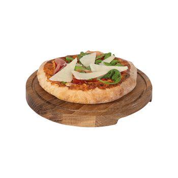 Boska Pizza Serveerplank S Eik Rond D24xh2cm