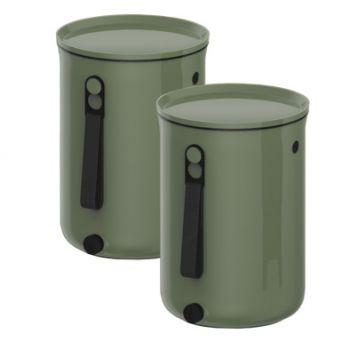 Plastika Skaza Bokashi Organico 2 S2 Compostbak Groen