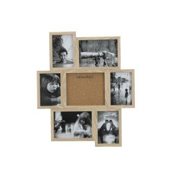 Cosy @ Home Pele Mele Natuur 42,1x2xh50,2cm Hout