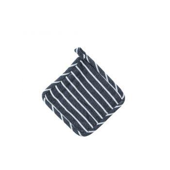 Cosy & Trendy Biarritz Pannelap 21x21cm Blauw Witte