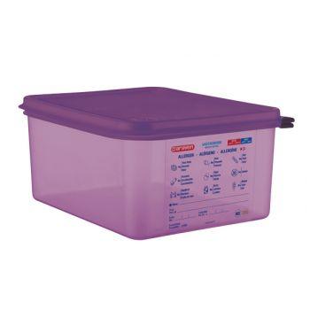 Araven Airtight Food Cont Gn1-2 Purper 10l 32.5