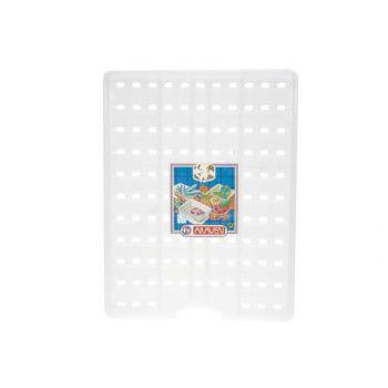 Araven Inlegrooster 25-30-35-40liter Wit 43,2x3