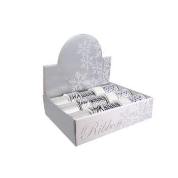 Cosy @ Home Display Linten Wit Zwart Zilv Set15 5 Types