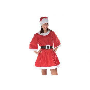Cosy @ Home Kerstkledij Luxe Jurk Dames 3dlg 80cm