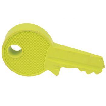 Cosy @ Home Deurstop Vorm Sleutel Groen 18x8.8x3.2cm