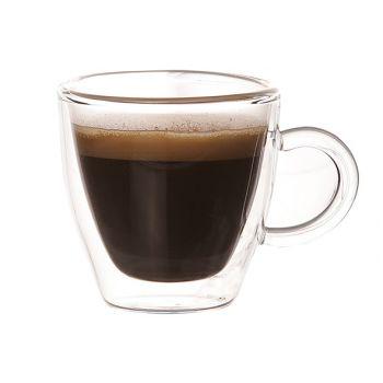 Cosy & Trendy Isolate Koffieglas 6cl Set2 Dubbelwandig