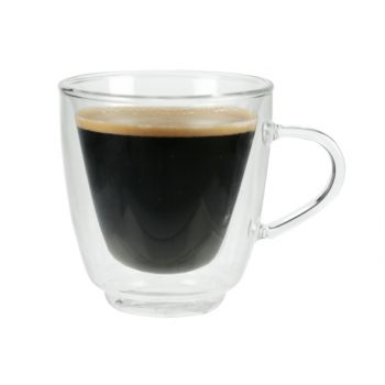 Cosy & Trendy Isolate Koffieglas 16cl Set2 D8,5xh9cm