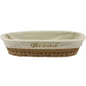 Cosy & Trendy Broodmandje Bread M.doek 40x18xh10cm Ova