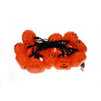 Cosy @ Home Halloweenverlichting Pompoen 20led Ww