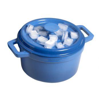 Cosy & Trendy Bergerac Kookpot Blauw 4,5l D24xh13cm