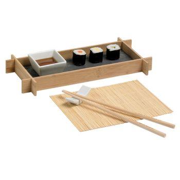 Cosy & Trendy Sushi Set 1pers Pres.schaal, Chopstick M