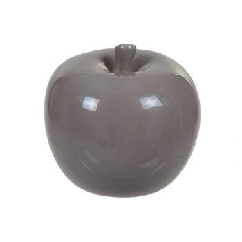 Cosy @ Home Design Appel Grijs-bruin 7.7x7.7x7.3cm